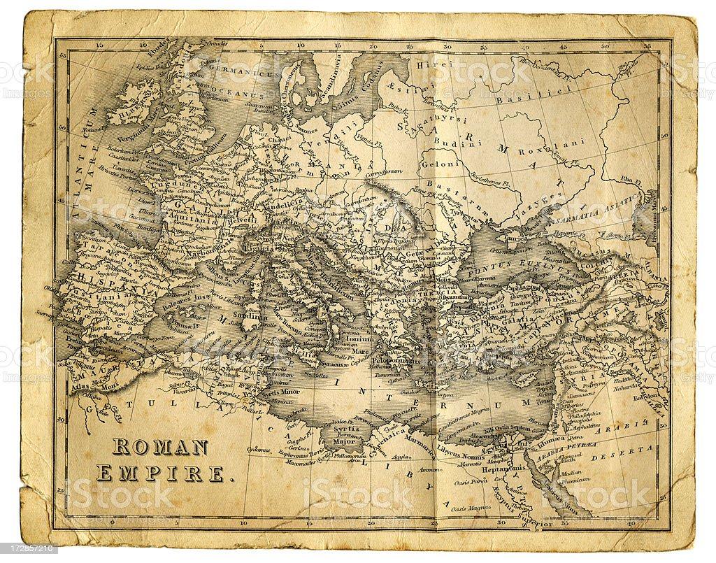 Roman Empire vector art illustration