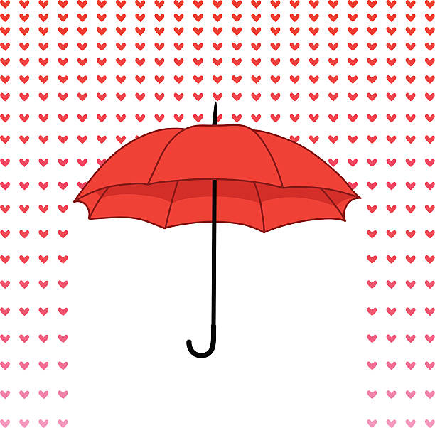 Image result for umbrella clipart hearts