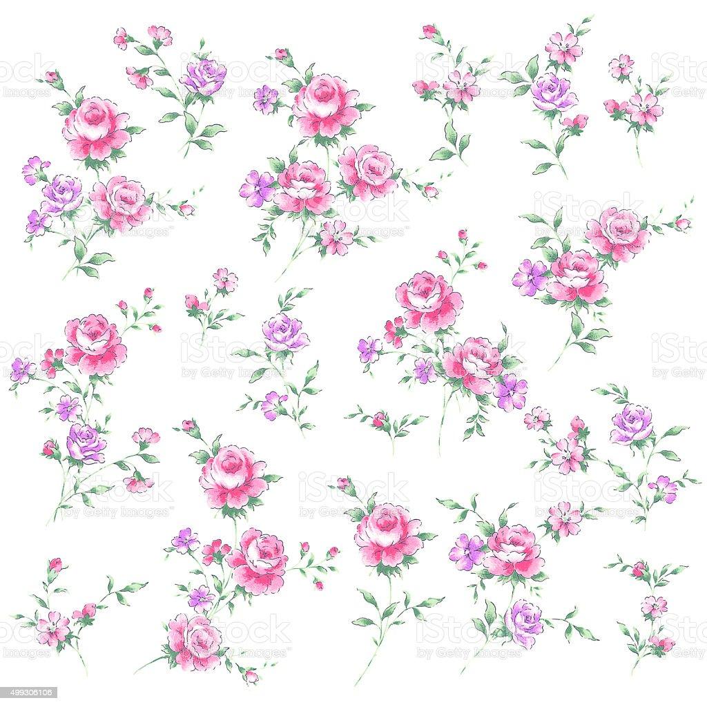 Rose illustration vector art illustration