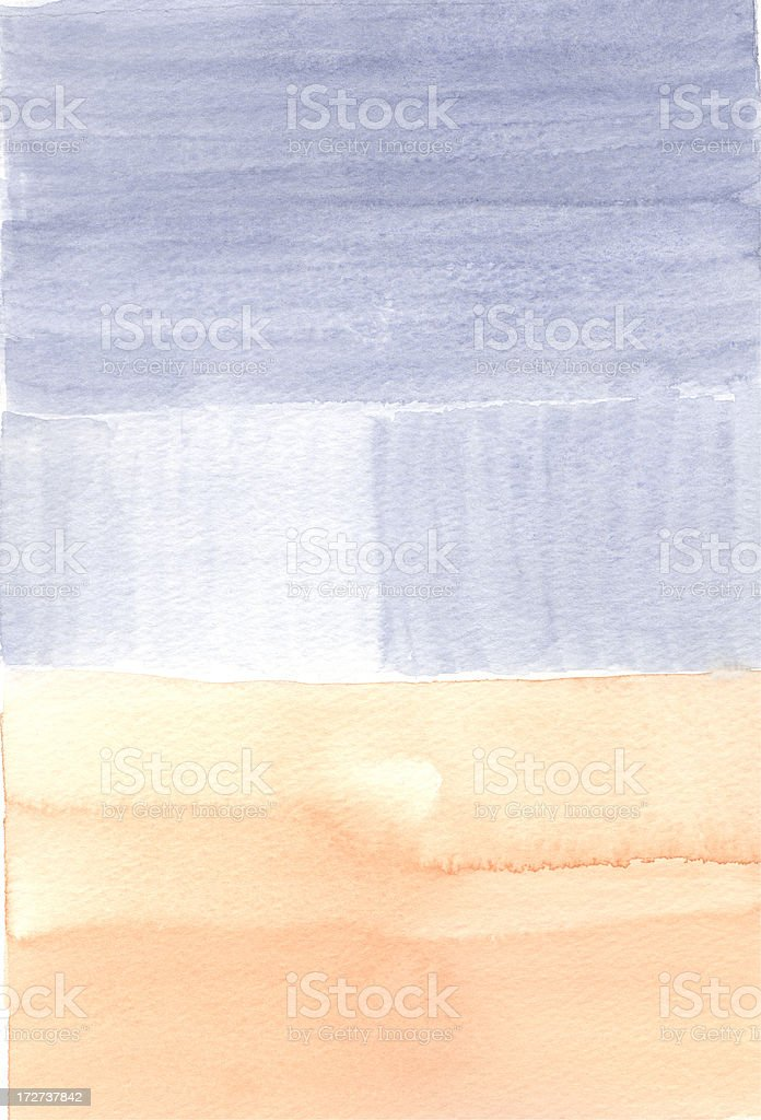 Rough Blue and Tan stock photo