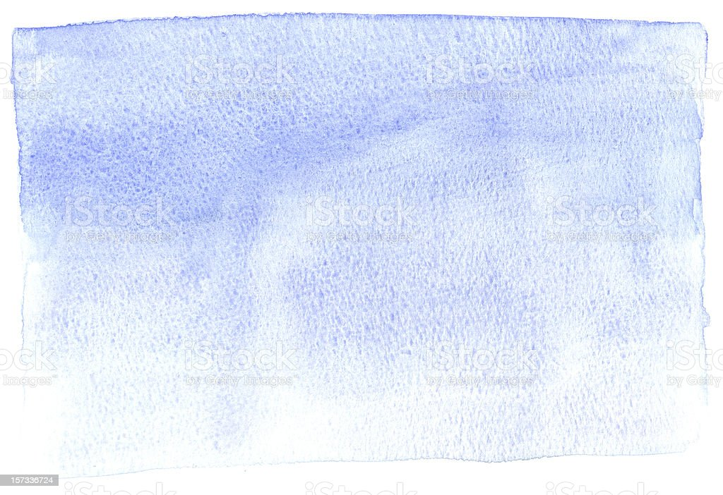 Rough Blue Water Color Background stock photo