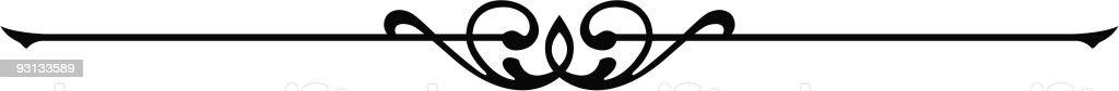 Ruleline (vector) royalty-free stock vector art
