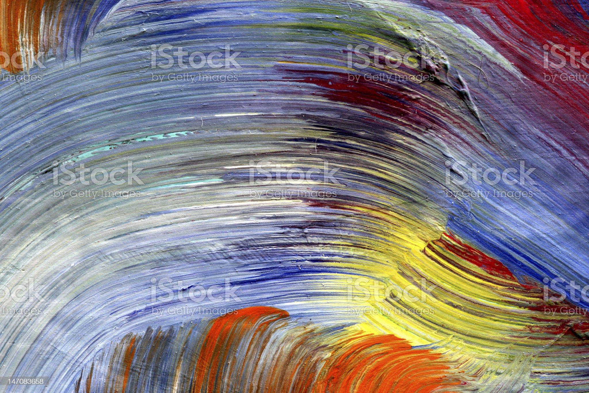 run colors - craftsmanship royalty-free stock vector art