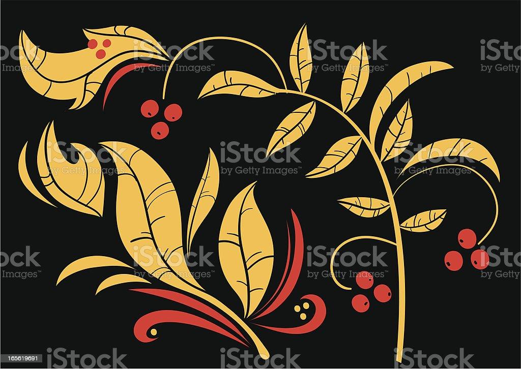 Russian Folk Art vector art illustration