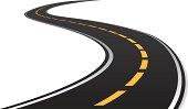 s curve road