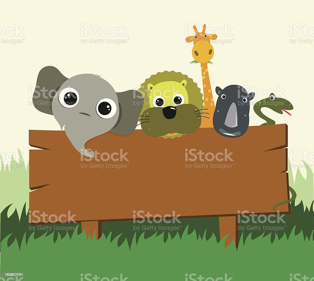 Safari royalty-free stock vector art