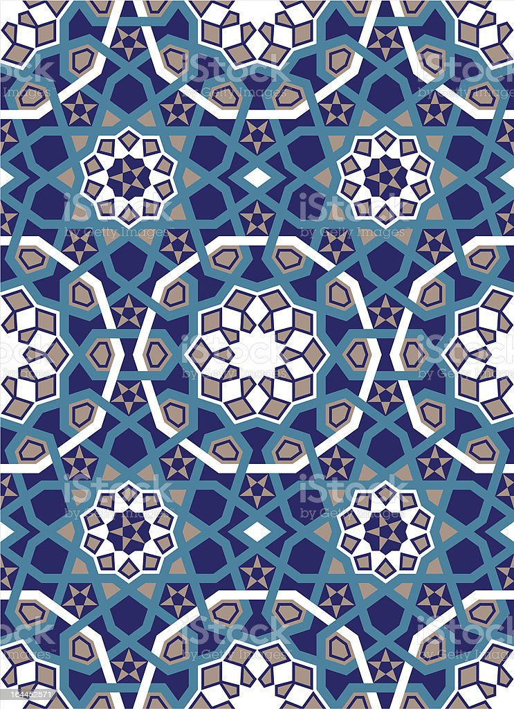 Safi Seamless Pattern royalty-free stock vector art