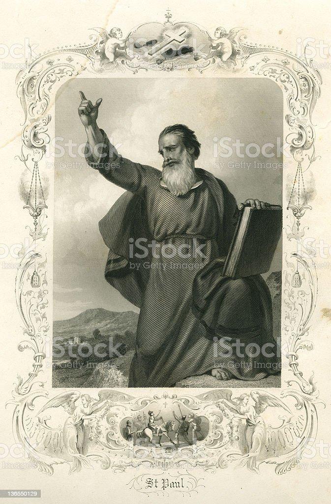 Saint Paul (XXXL) royalty-free stock vector art