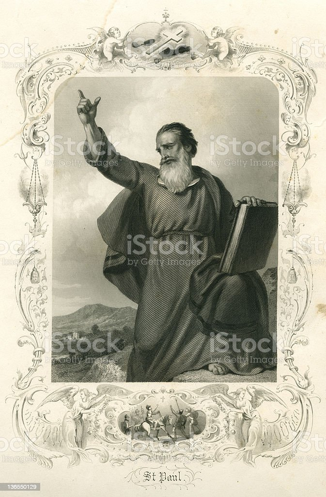 Saint Paul (XXXL) vector art illustration
