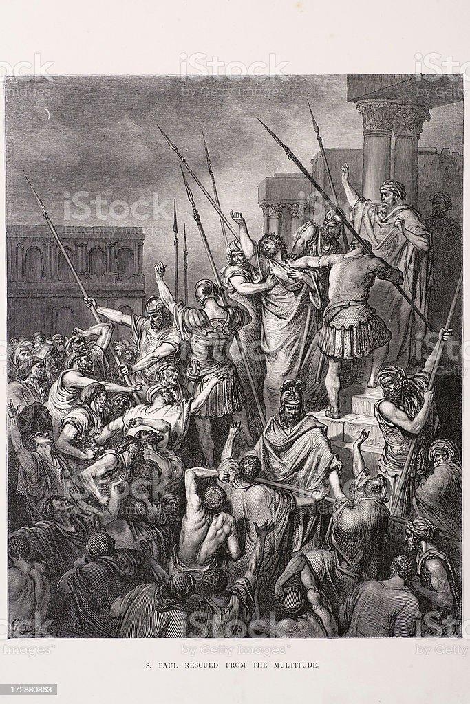 Saint Paul royalty-free stock vector art