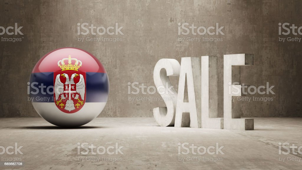 Sale Concept vector art illustration