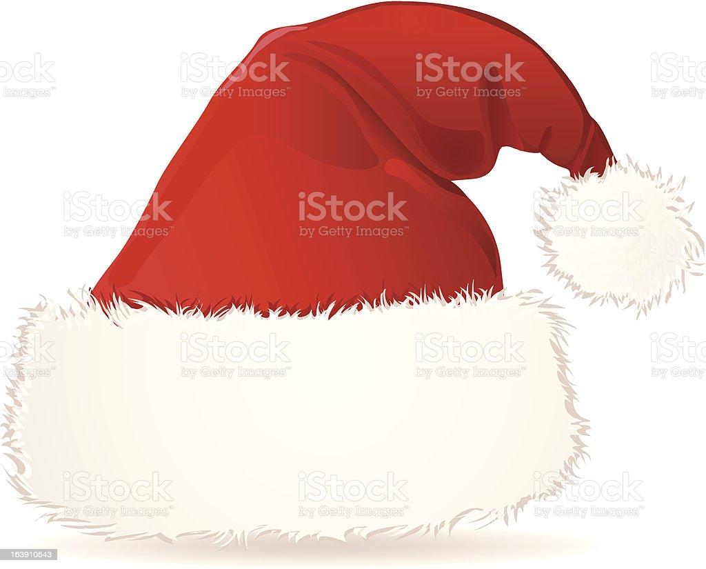Santa cap royalty-free stock vector art