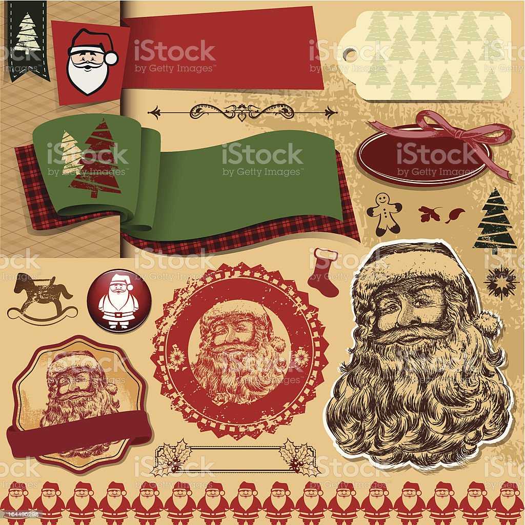 Santa Claus royalty-free stock vector art