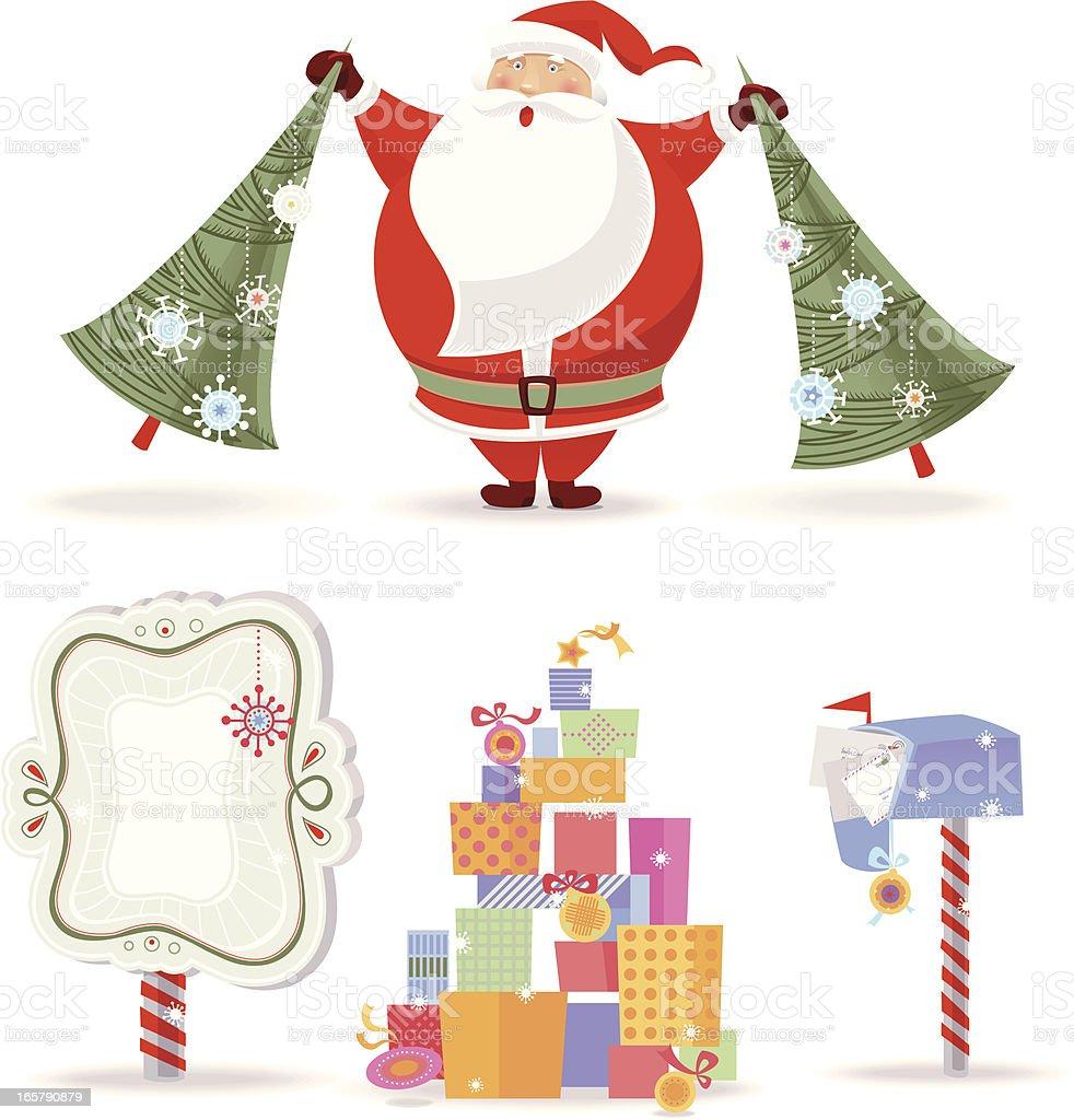 Santa Claus royalty-free stock vector art