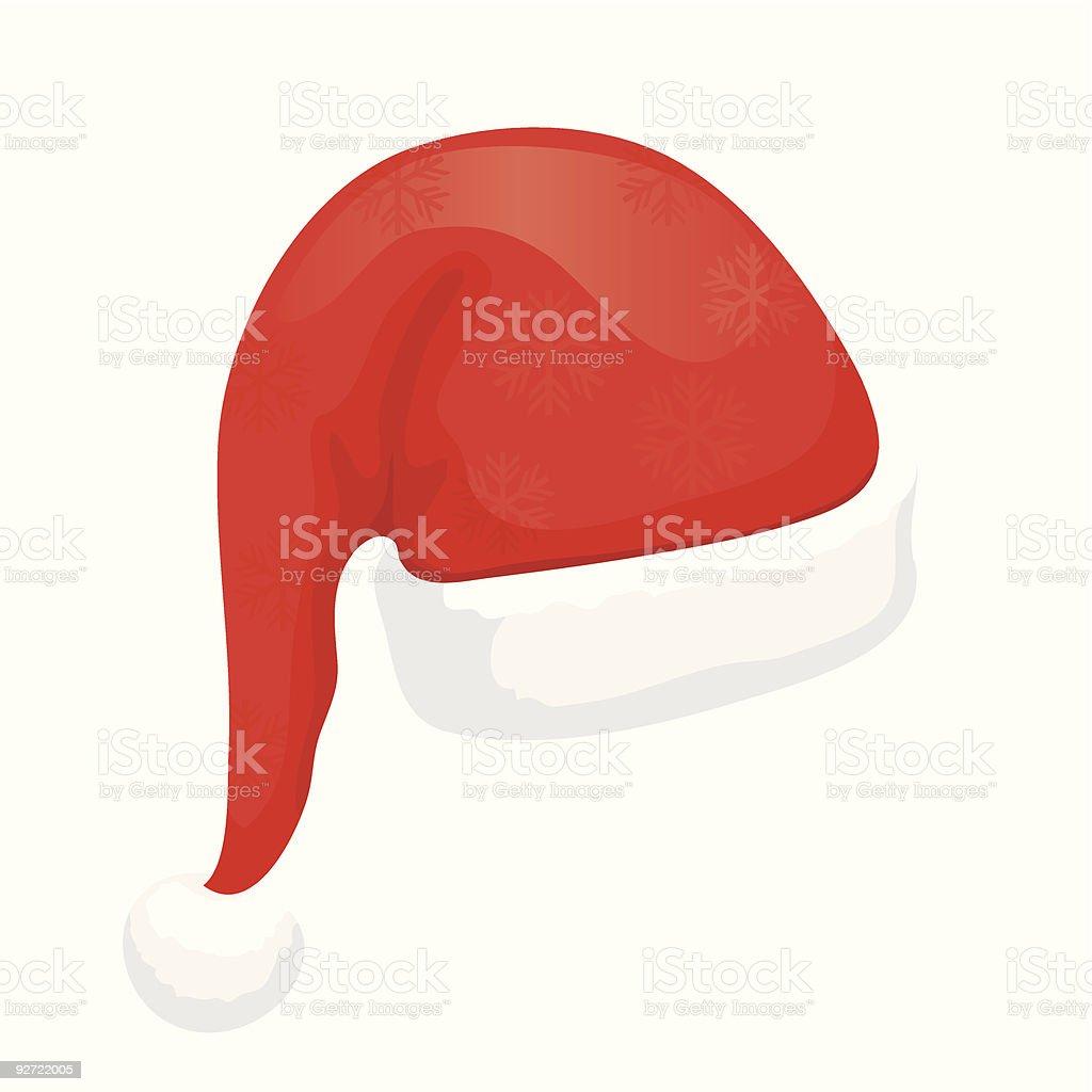 Santa Hat (vector + XXL jpg in ZIP folder) royalty-free stock vector art