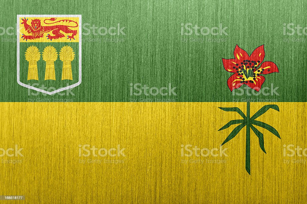 Saskatchewan Flag vector art illustration