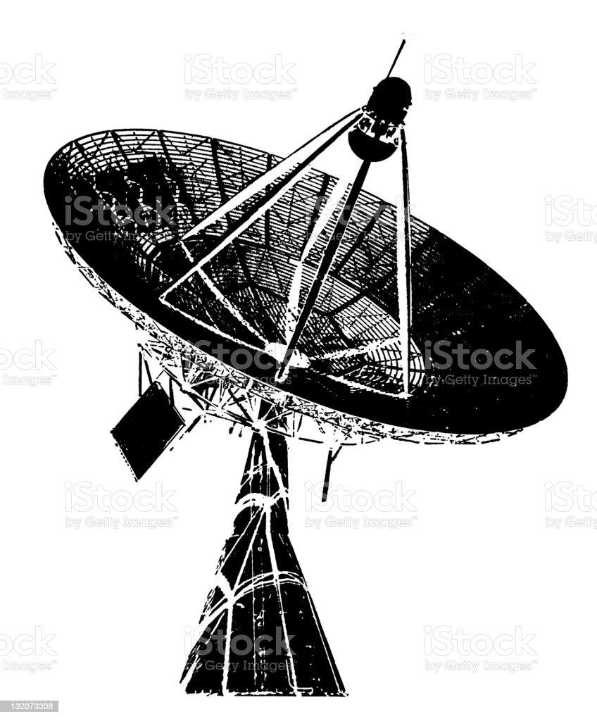 Satellite Dish royalty-free stock vector art