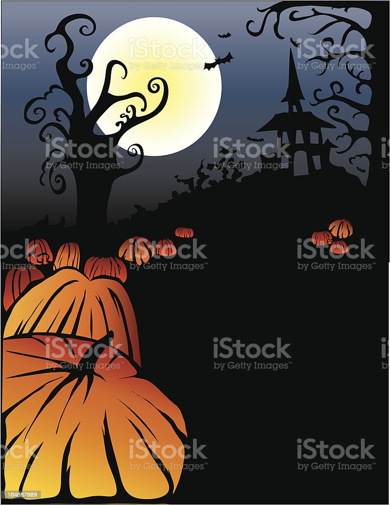 scary nite royalty-free stock vector art