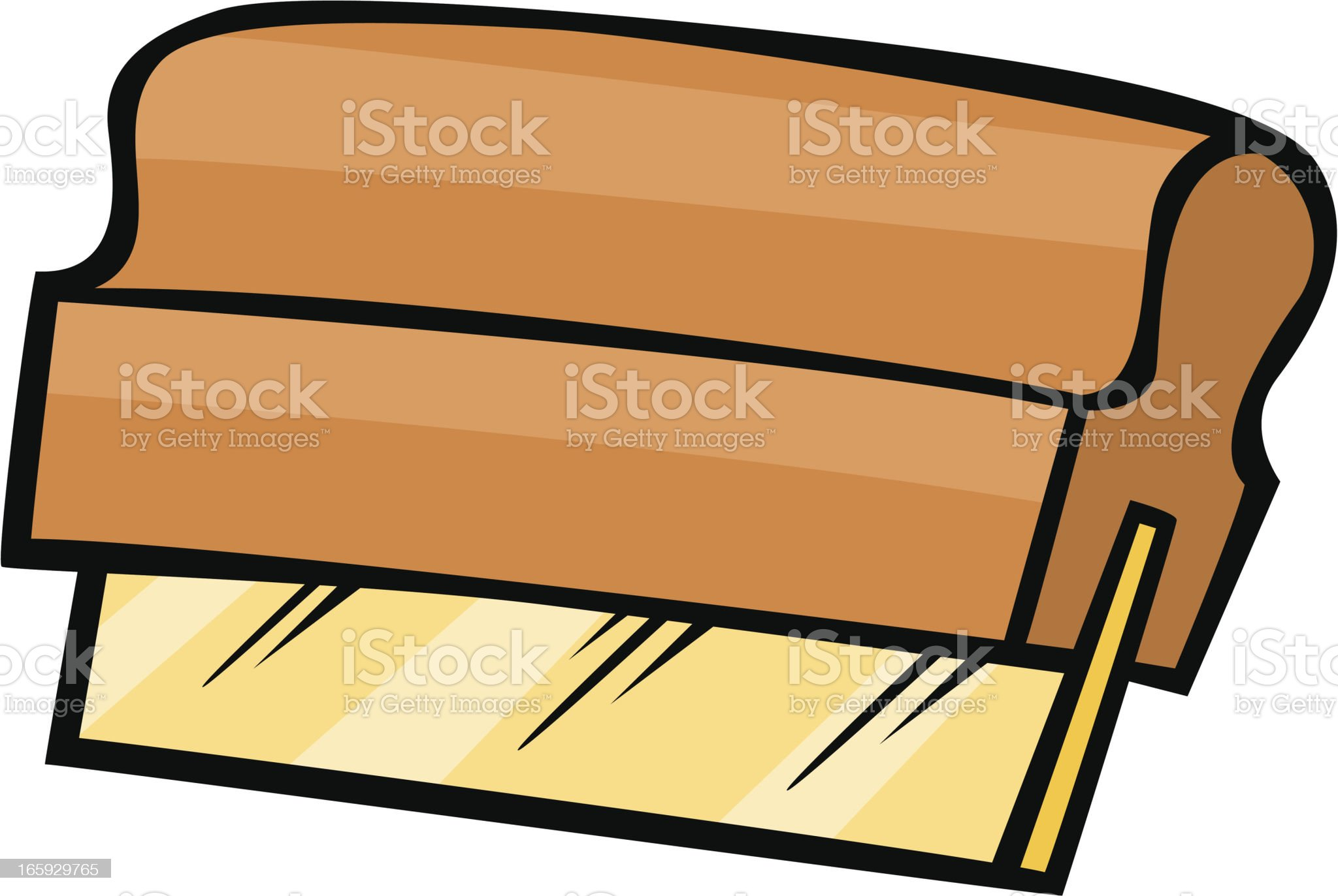 screen printing squeegee royalty-free stock vector art