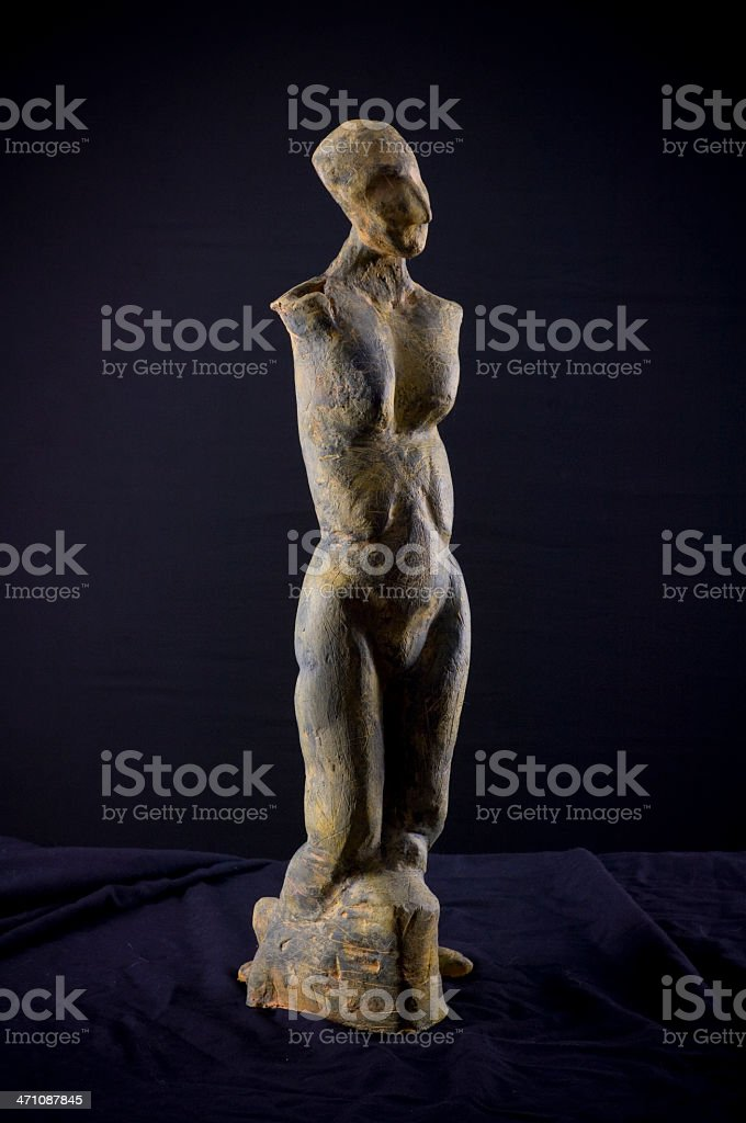 Sculpture without arms royalty-free stock vector art