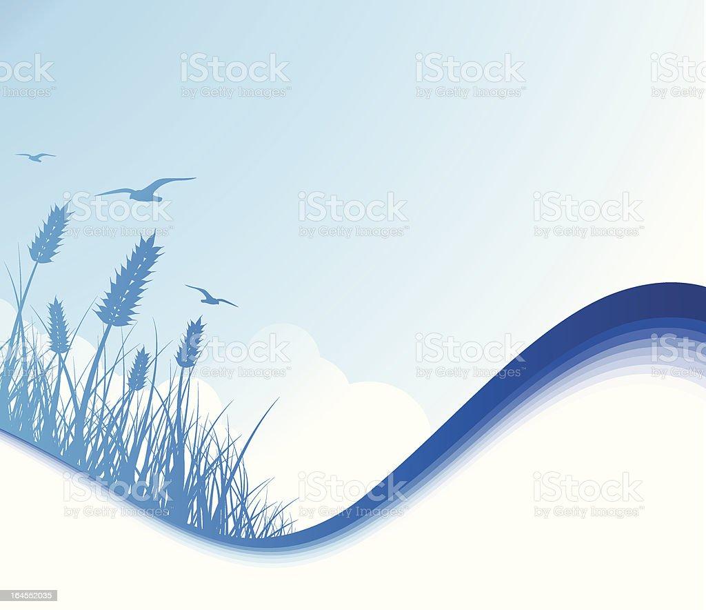 Sea Breeze vector art illustration