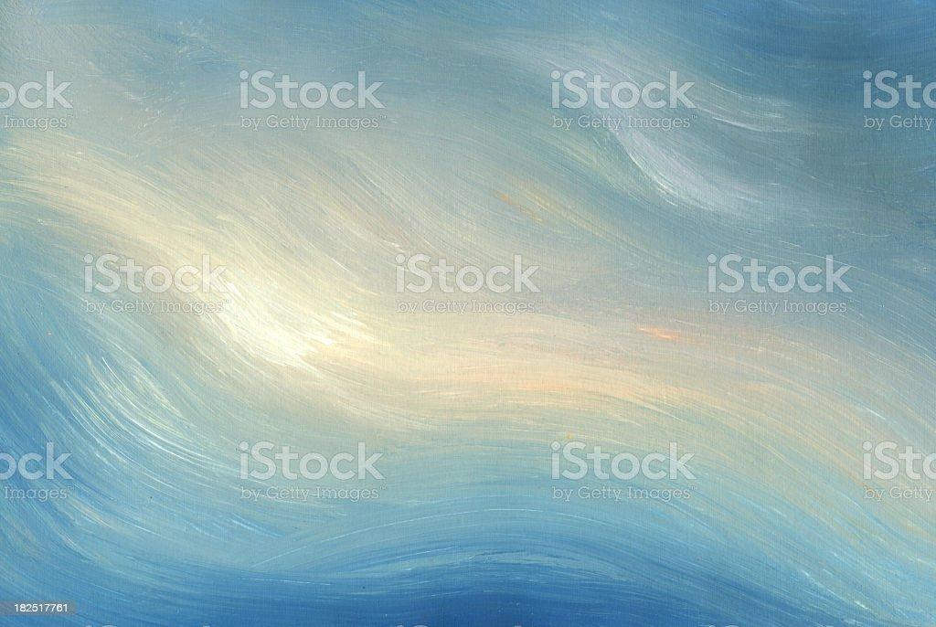 sea sunset-art background royalty-free stock vector art