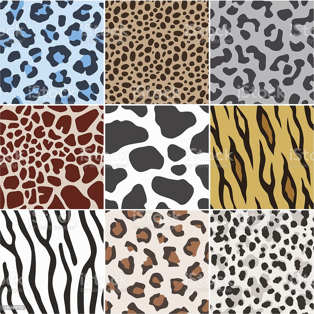 seamless animal skin texture pattern royalty-free stock vector art