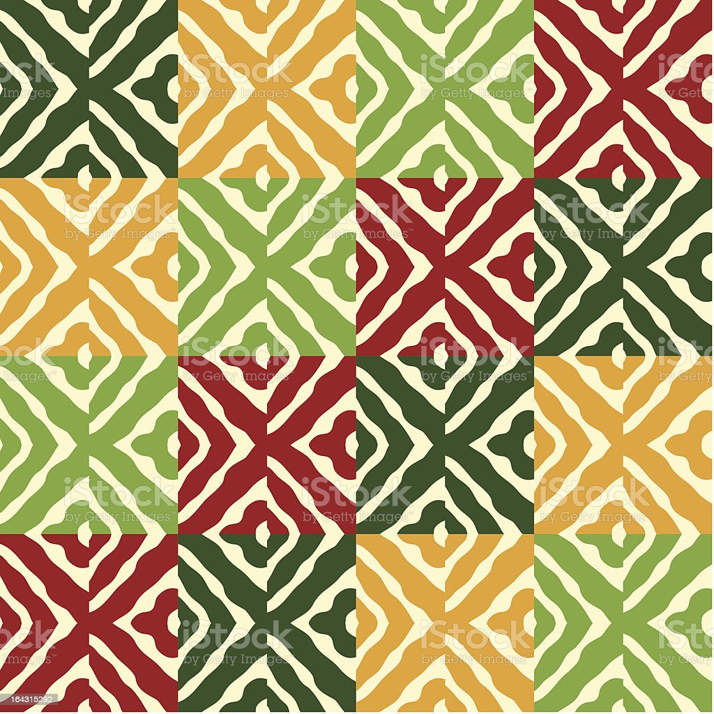 seamless christmas pattern royalty-free stock vector art