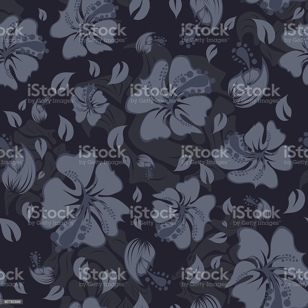 seamless floral vector background royalty-free stock vector art