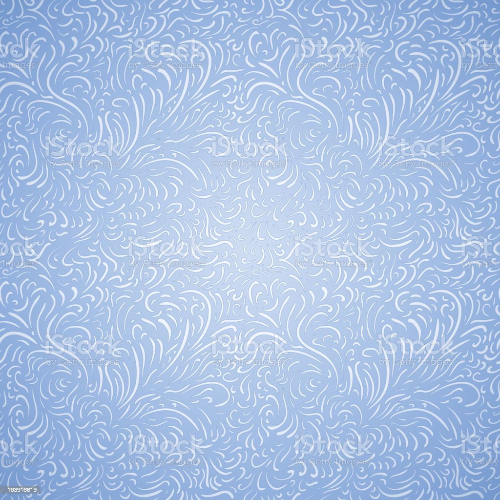 Seamless frost pattern royalty-free stock vector art