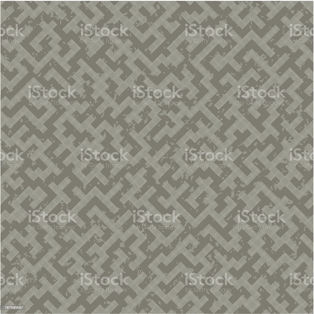 Seamless maze pattern royalty-free stock vector art