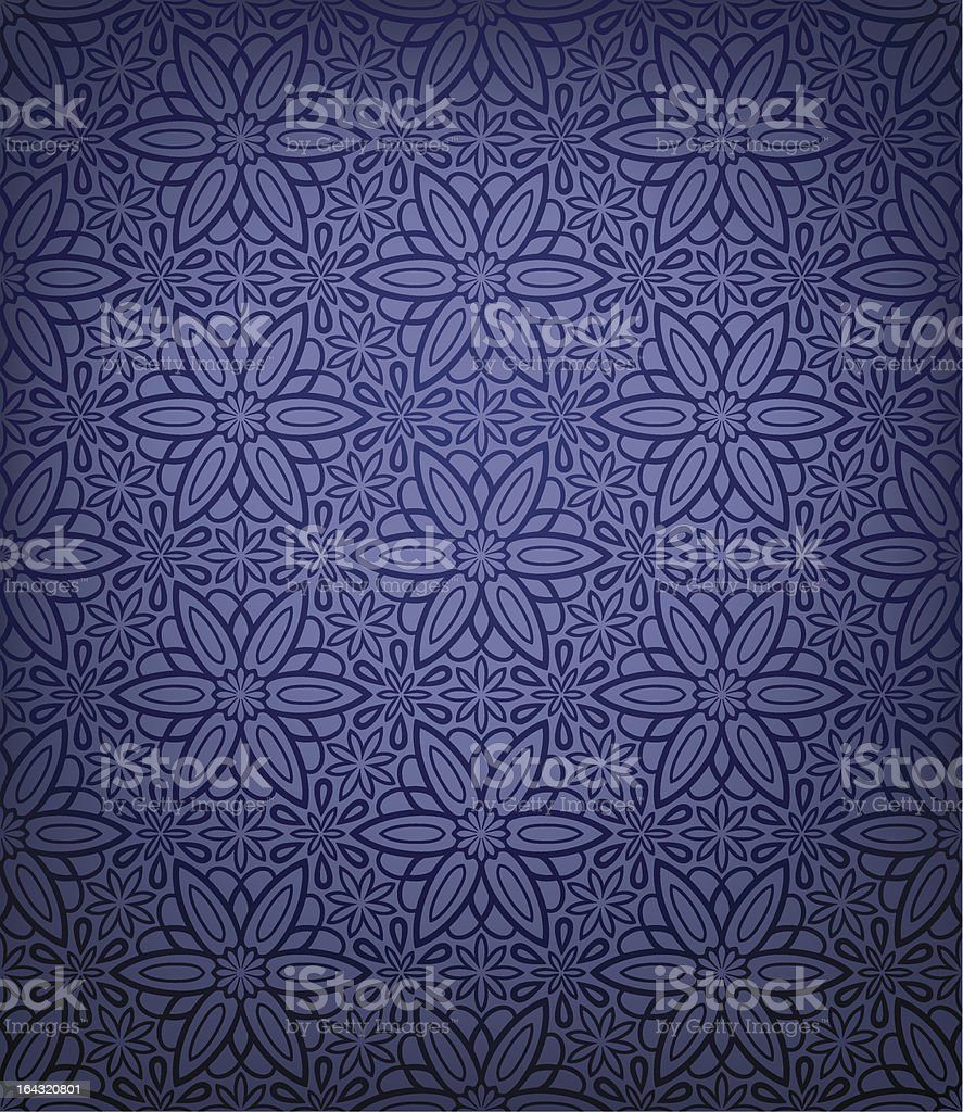 Seamless ornamental wallpaper royalty-free stock vector art