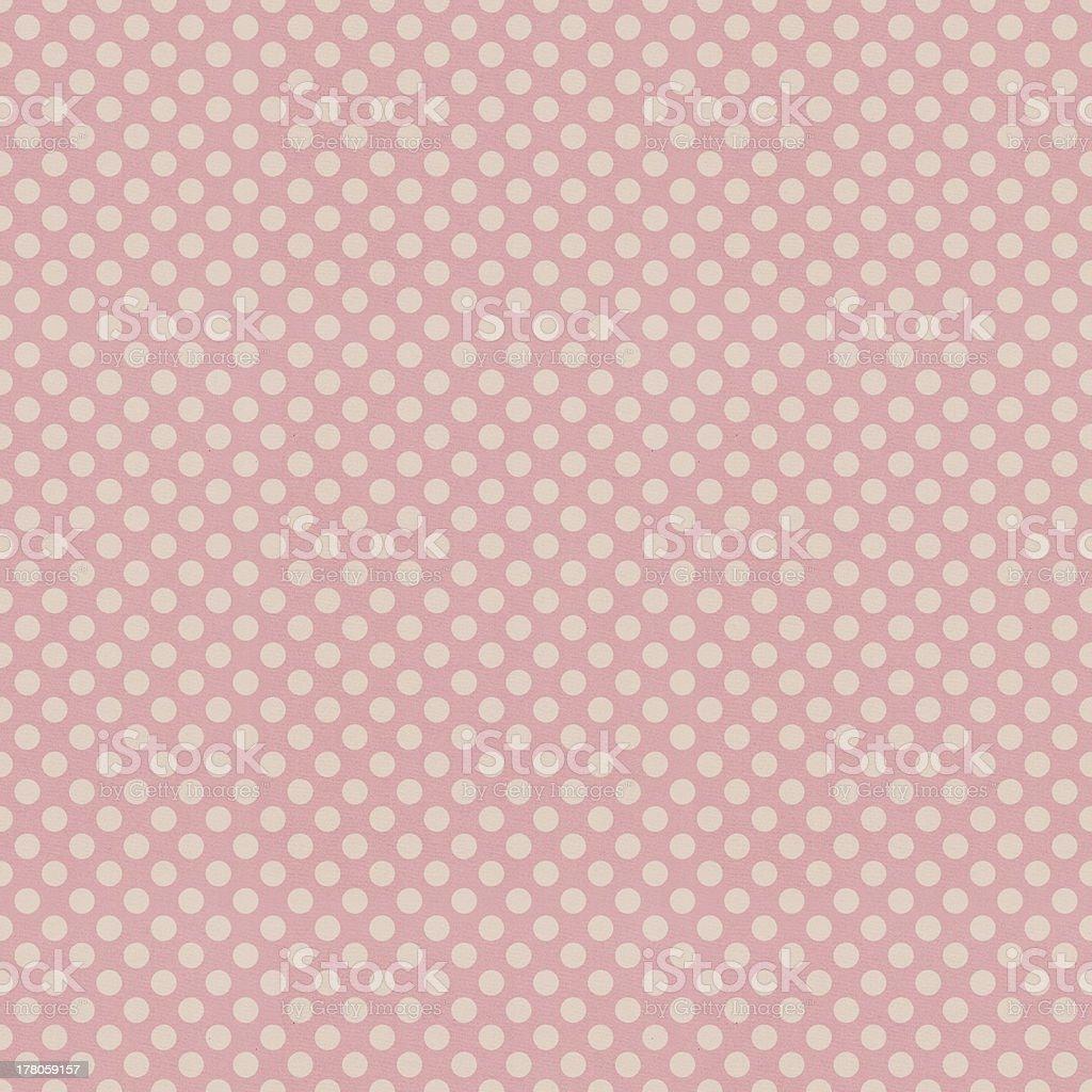 Seamless pink polka dots patten royalty-free stock vector art