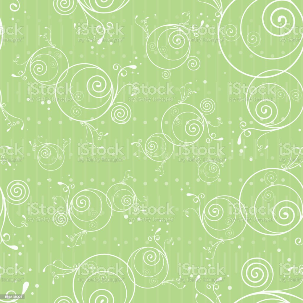 Seamless spring floral pattern royalty-free stock vector art