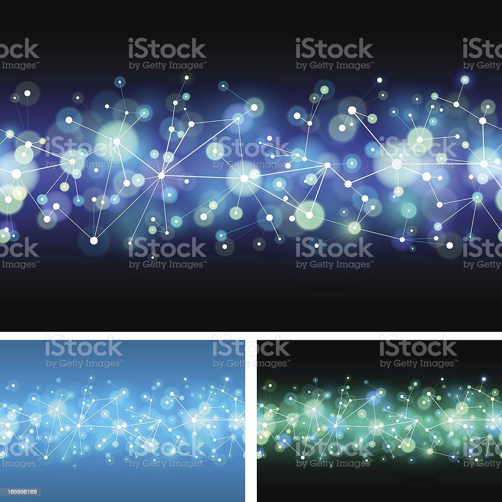 Seamless technology network royalty-free stock vector art