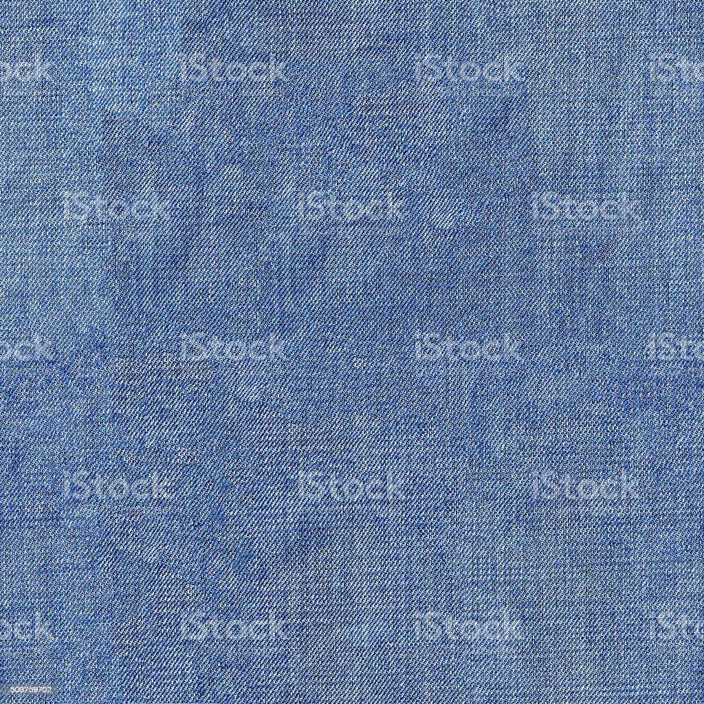 Seamless texture of denim cloth vector art illustration
