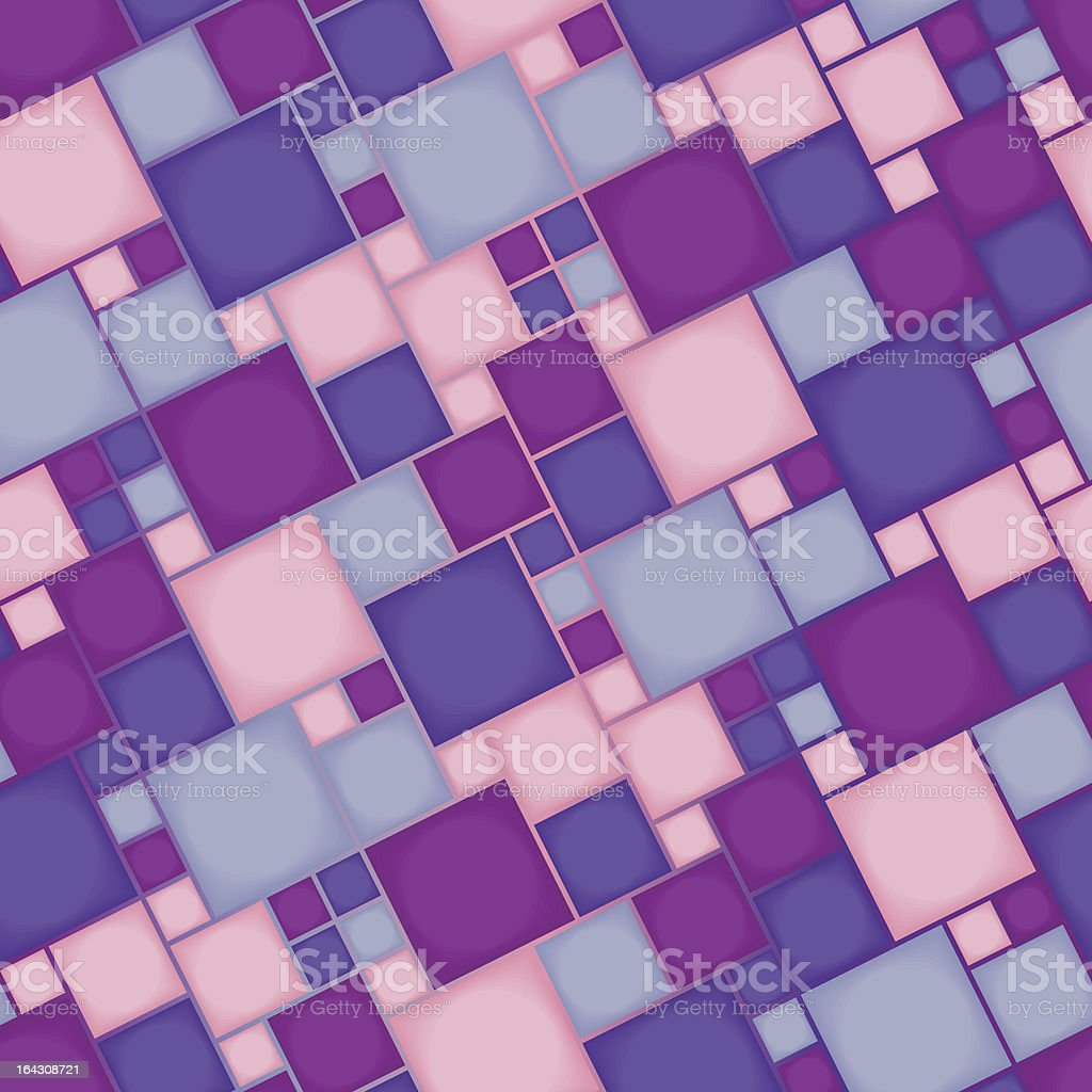 Seamless violet pattern royalty-free stock vector art
