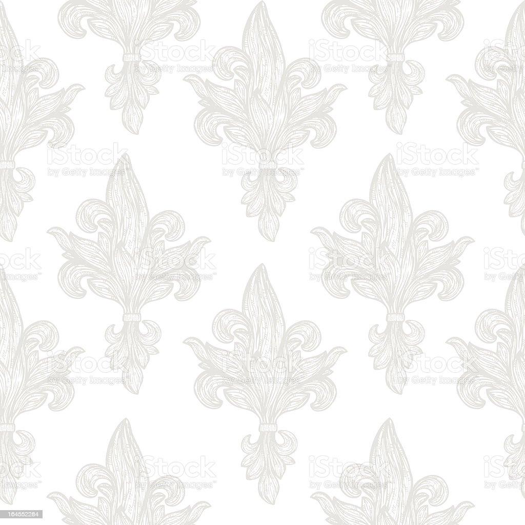 Seamless Wallpaper vector art illustration