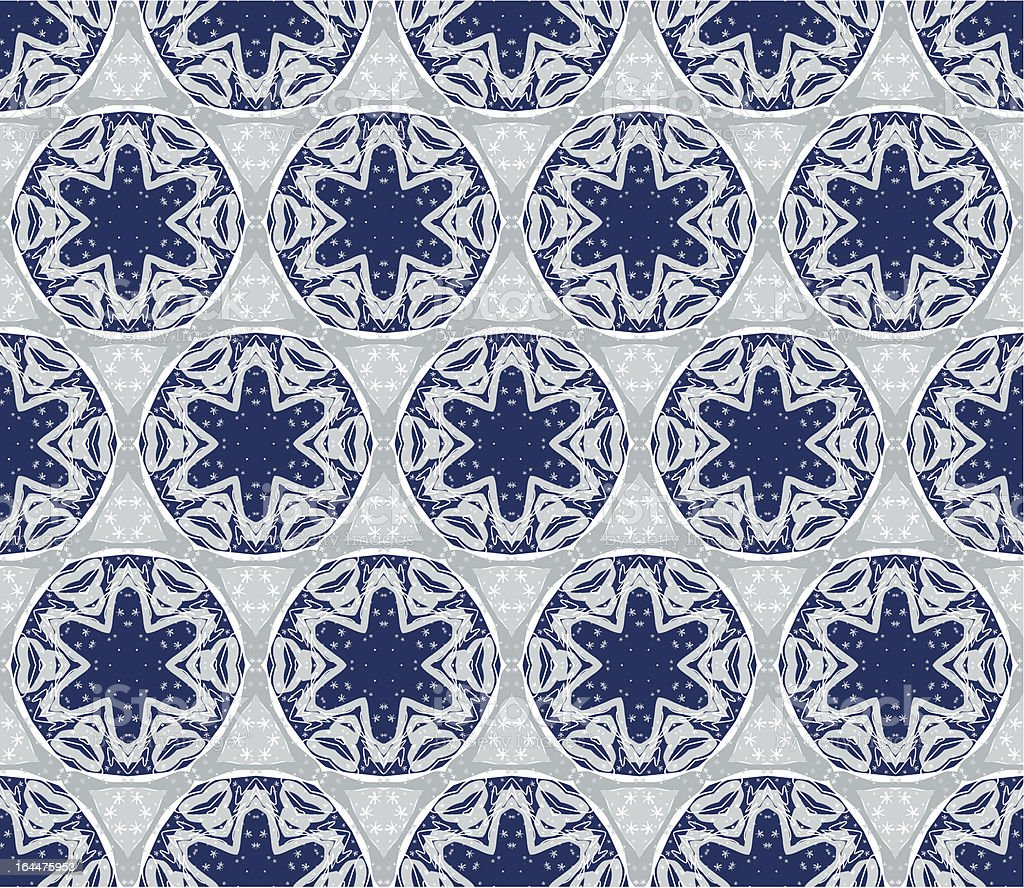 Seamless wallpaper with winter pattern royalty-free stock vector art