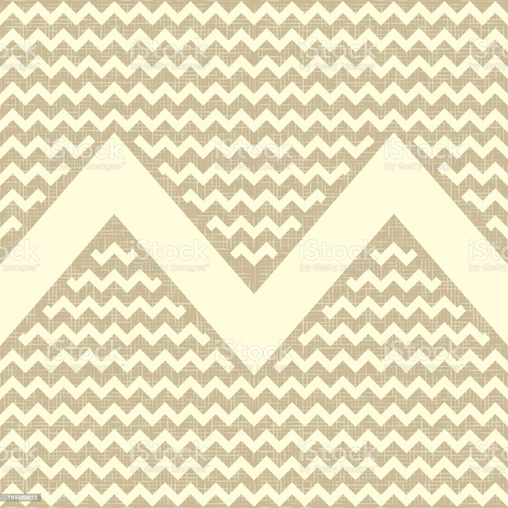 Seamless zigzag pattern. royalty-free stock vector art
