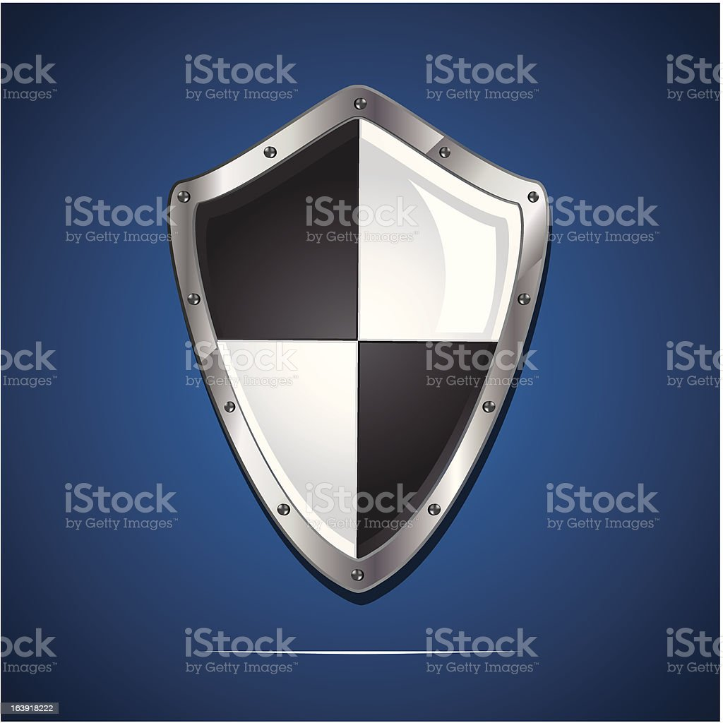 security shield symbol icon royalty-free stock vector art