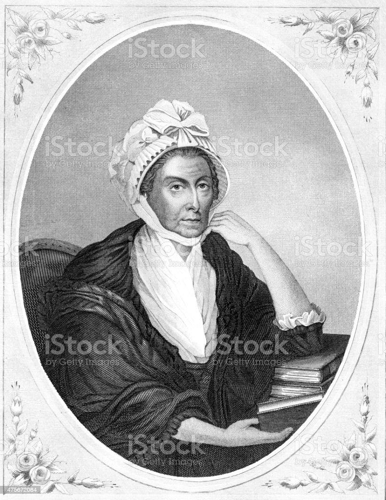 Selina Hastings - Countess Of Huntingdon vector art illustration