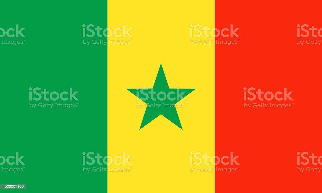 Senegal vector art illustration
