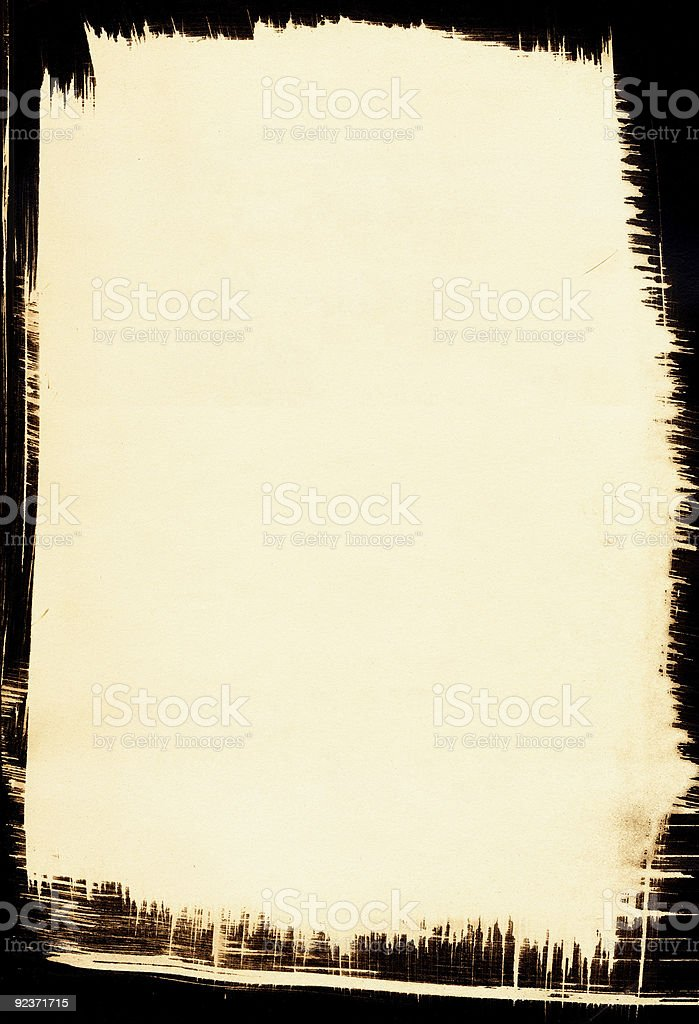 Sepia background with Black Border royalty-free stock vector art