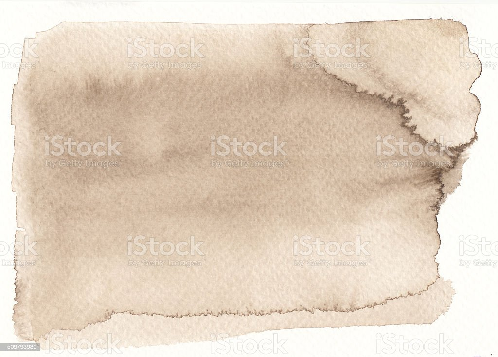 sepia tones watercolor background vector art illustration
