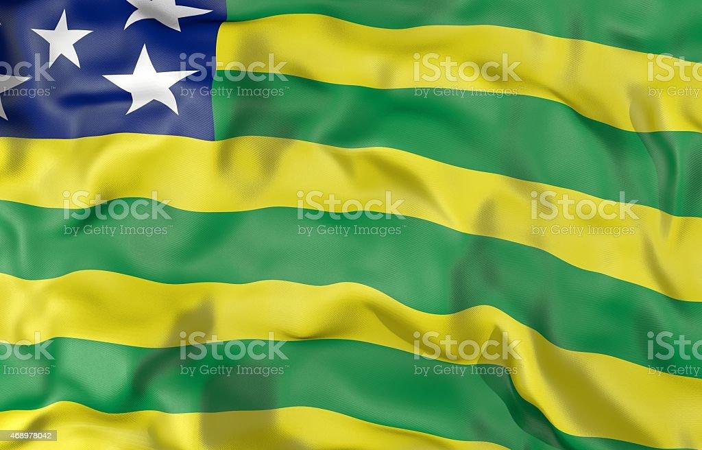 Sergipe flag 3d illustration vector art illustration