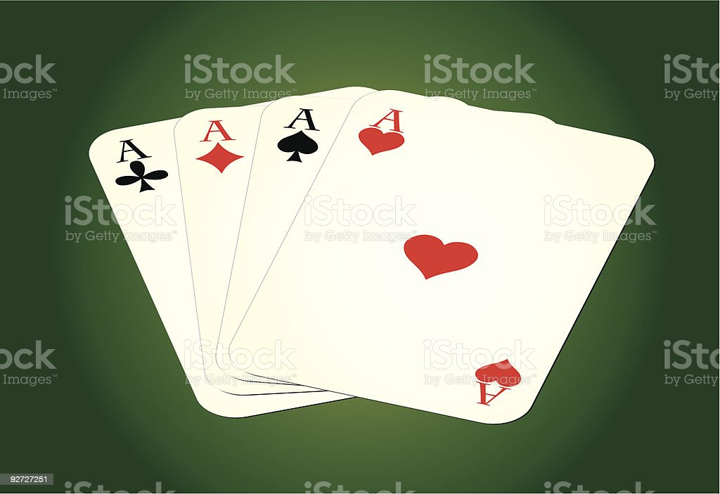 Set of leisure cards on green background. vector art illustration