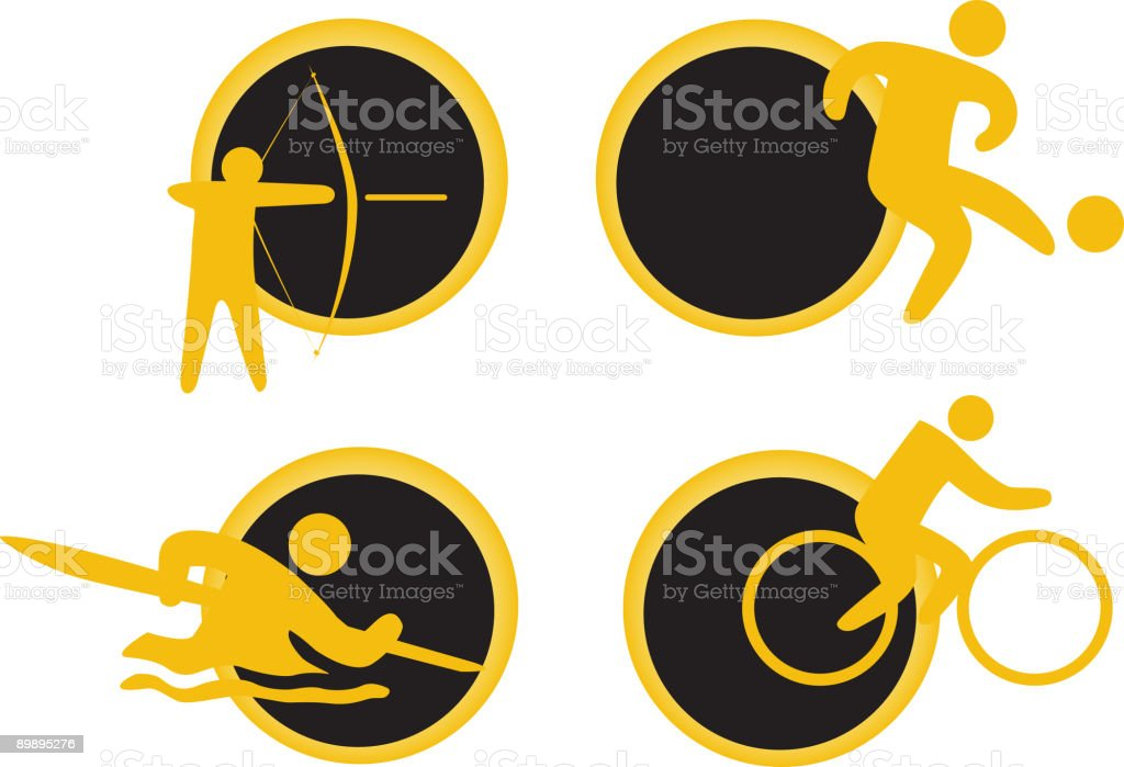 Set of sport icons royalty-free stock vector art