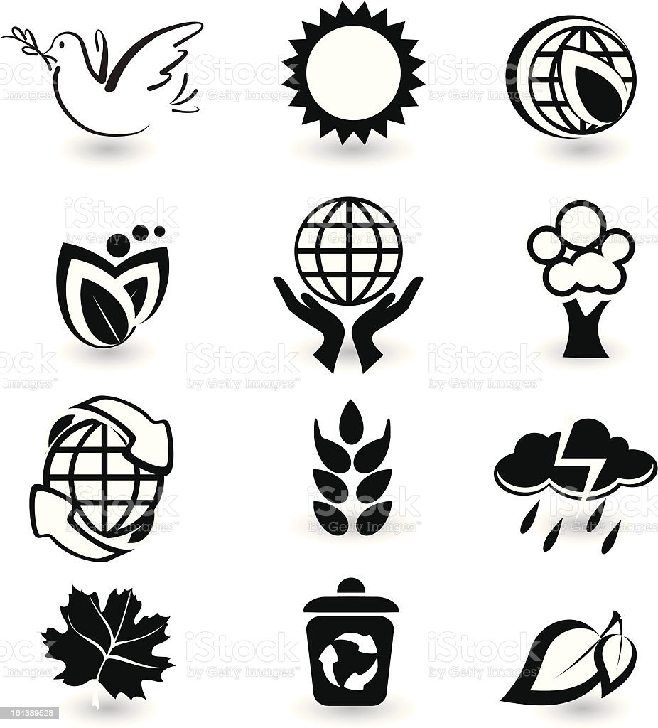 Set of vector design elements royalty-free stock vector art