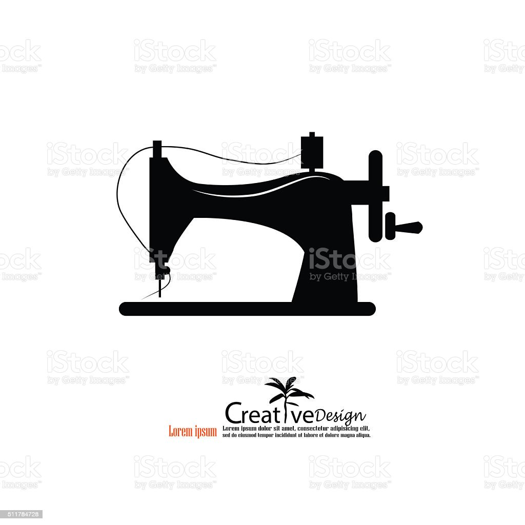 sewing machine clip images